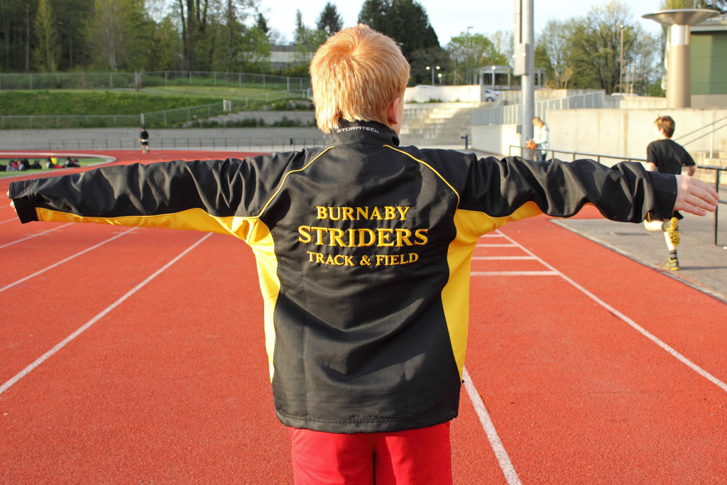 Burnaby Striders Uniform